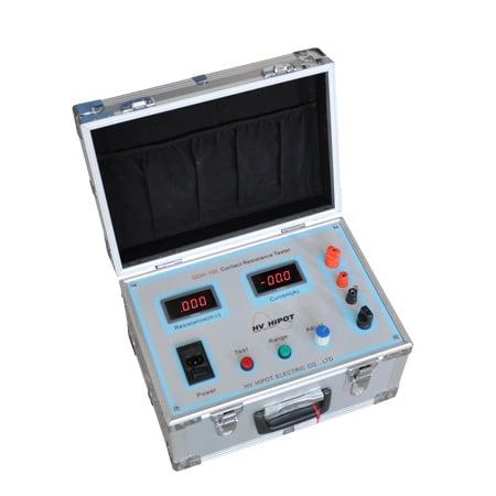 Thiết bị đo điện trở tiếp xúc dòng 100A GDH-100 - HV Hipot - Trung Quốc