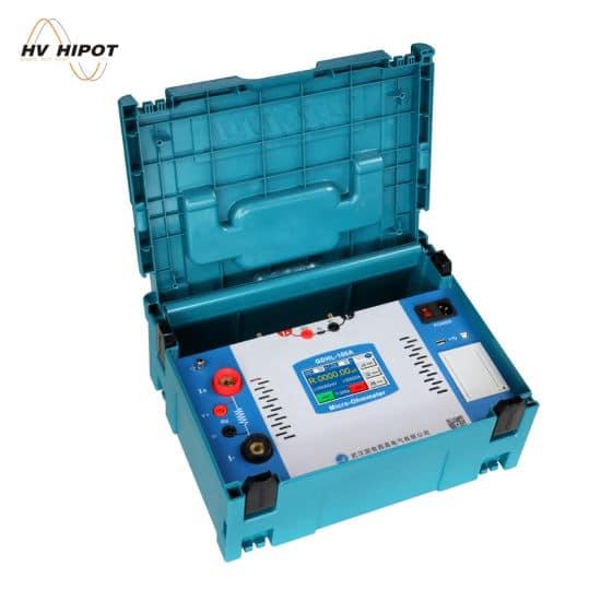 Thiết bị đo điện trở tiếp xúc dòng 100A GDHL-100A - HV Hipot - Trung Quốc