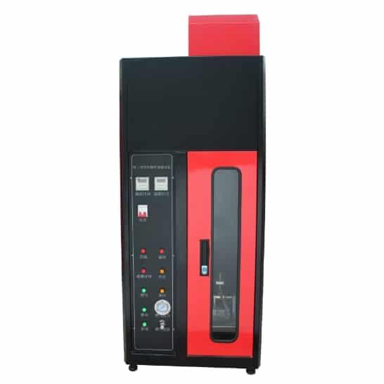 Thiết bị thử nghiệm cháy lan theo chiều thẳng đứng theo tiêu chuẩn IEC 60332-1 cho cáp điện và cáp quang - Trung Quốc