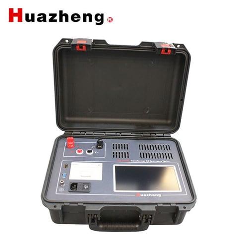 Thiết bị đo điện trở một chiều cuộn dây máy biến áp dòng 10A HZ-3110B - Hãng Huazheng - Trung Quốc